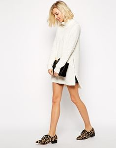 Enlarge River Island Cowl Neck Sweater