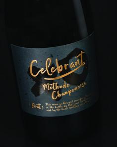 Celebrant Sparkling Wine Package Design | Sterling Creativeworks