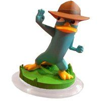 Disney Infinity Figure: Agent P (Wave 2, Toy Box Only, Sold Separately or in Phineas and Ferb Toy Box Pack)