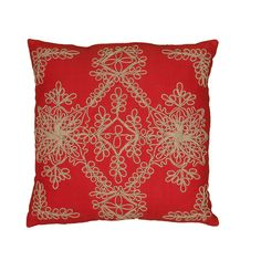 Rizzy Home 18-inch Moroccan Throw Pillow