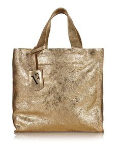 Gold Furla bag