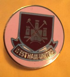 West Ham Utd Rare Badge Crest Pin
