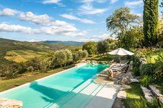 Camporempoli Villa in Tuscany Radda in Chianti Rural Retreats, Italian Villa, Vacation Villas, Vacation Rentals, Beautiful Villas, Beautiful Places, Tuscan Style, Best Vacations, Luxury Villa