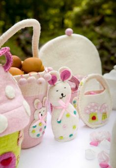 Easter felt crafts