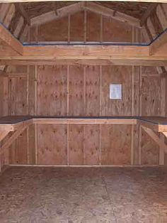 Shed shelving ideas - our shed is largely forgotten. Sounds like I discovered an underutilized storage space!