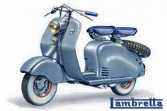 made in the sixties Lambretta Scooter, Vespa Scooters, Scooter Storage, Concept Motorcycles, Motor Scooters, Mobility Scooters, Scooter Girl, Motorcycle Clubs, Classic Bikes