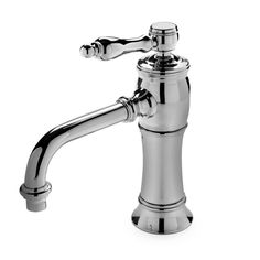 Discover Julia High Profile One Hole Deck Mounted Lavatory Faucet with Metal Lever Handles Online | Waterworks