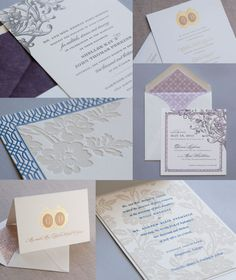 Store Spotlight: Nolte's Bridal - Chalk Hill, Broadmoor, Rutherford #lettepress #foil #weddinginvitations  Invitations and Stationery | Dauphine Press