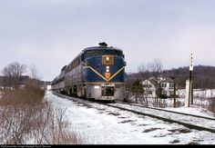 RailPictures.Net Photo: DH18 Delaware & Hudson ALCO PA-4 at Ballston Spa, New York by Paul F. De Luca