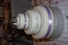 The cake stand made for my sister's wedding