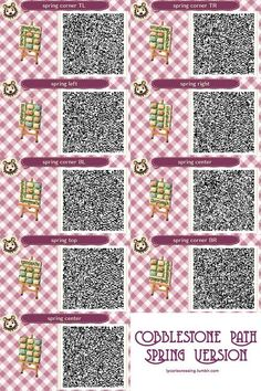 Read Paths from the story Animal Crossing New Leaf QR Codes n Stuff by alihoe_ (Ali) with 495 reads. Acnl Paths, Motif Acnl, Animal Crossing 3ds, New Leaf, Fun To Be One, Really Cool Stuff, Qr Codes, Coding, Animals