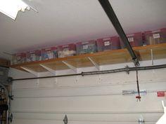 Ordinaire Over Garage Door Storage Ideas More