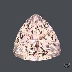 Morganite Super Trillion™ Cut 9.69 cts