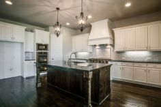 Cook in this kitchen by Shaddock Homes at Phillips Creek Ranch #ShaddockHomesTX #KitchenDesign #Kitchens