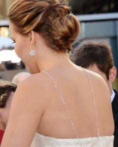 Jennifer Lawrence - Oscar 2013 http://juliapetit.com.br/beleza/beleza-no-oscar/