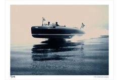 reminds me of Lake Mohawk speedboat photo by Philip Gendreau