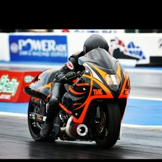 7 Second All Motor Brocks Hayabusa Grudge Bike Drag Racing Ama