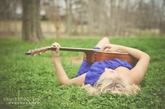 Finding guitar photography poses for women that aren& skanky is tough on here. This one seems mildly appropriate. Guitar Senior Pictures, Guitar Photos, Girl Senior Pictures, Senior Picture Outfits, Senior Girls, Senior Photos, Senior Session, Guitar Photography, Senior Photography