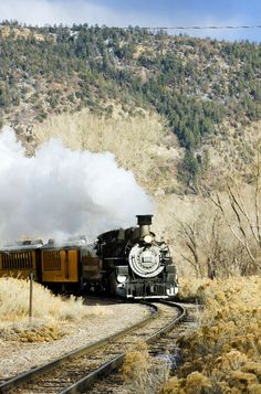 Ride the Durango and Silverton Narrow Gauge Railroad!