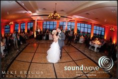 Orlando wedding ~ the esteemed Bella Collina ballroom with a warm glow of LED Lighting by Soundwave Entertment...djsoundwave.net.  Photo by Mike Briggs  #bellacollina #mikebriggs #soundwave #soundwaveentertainment #soundwavedj #soundwavelighting #orlandodj #orlandoweddingdj #LEDweddinglighting #orlandoweddinglighting #orlandowedding  #weddinglighting #DJ #wedding