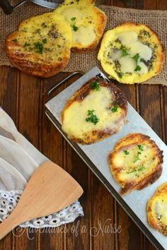 Carb Free Gluten Free Garlic Bread