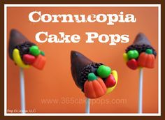 Every Day Should Pop!: Tutorials - Thanksgiving Cake Pops