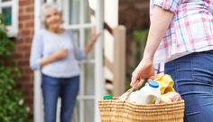 'Shopping Angels' Are Delivering Groceries to People in Need Right Now pinned from March 24 2020 at