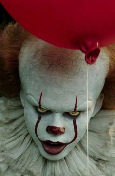 Clown Horror, Creepy Clown, Arte Horror, Horror Art, Horror Movie Characters, Horror Movies, Theme Halloween, Halloween Makeup, Maquillage Halloween Clown