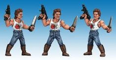 Image result for fistful of kung fu miniatures