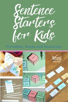 Do you have reluctant writers at home? Do you find that they are dry with ideas and need a little help with brainstorming on writing topics? Take a look at these lists of sentence starters for kids! #sentencestarters Writing Topics, Sentence Starters, How To Start Homeschooling, Homeschool Curriculum, Kids Education, Preschool Activities, Sentences, Printables, Crafts
