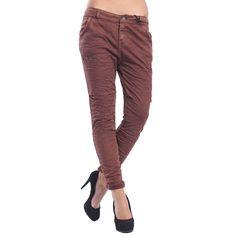 MARYLEY Jeans Boyfriend baggy con effetto felpa MATTONE Art. B60Z/E01 Parachute Pants, Khaki Pants, Jeans, Fashion, Moda, Khakis, Fashion Styles, Fashion Illustrations, Denim