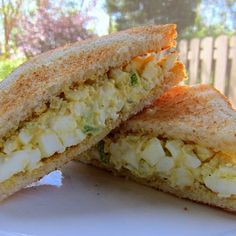 The best egg salad. I've made this many times!  The Masters Egg Salad Recipe - Plain Chicken