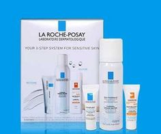 La Roche-Posay 3-piece Free Bonus Gift with $45 Purchase & Promo Code KIT at La Roche-Posay - details at MakeupBonuses.com #LaRoche-Posay #LaRoche-Posay #GWP