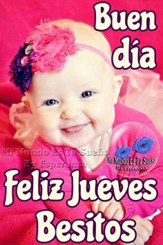 Buen día, Feliz Jueves, Besitos Memes, Life, Princesas Disney, Spanish, Twitter, Videos, Red Roses, Good Day Quotes, Meme