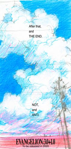 Looking for information on the anime Evangelion: (Evangelion: Thrice Upon a Time)? Find out more with MyAnimeList, the world's most active online anime and manga community and database. The fourth and final movie of the Evangelion rebuild movie series. Neon Genesis Evangelion, The End Of Evangelion, Anime Couples Manga, Cute Anime Couples, Anime Girls, Rosario Vampire Anime, Otaku, Title Card, Manga Illustration