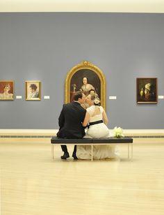 art gallery weddings