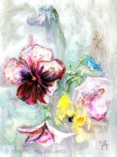 floral - Georg Ireland Digital Painting