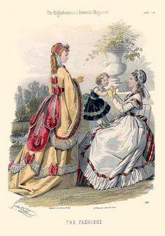 1869 Fashion Plate
