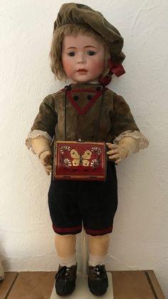 Simon&Halbig 1488 70 cm. Original antique Outfit