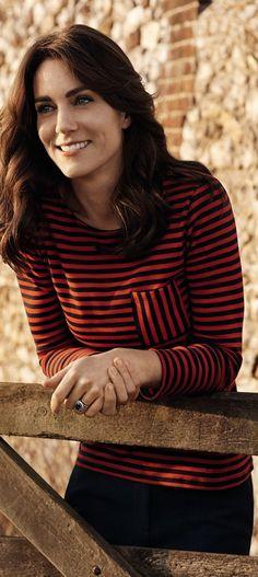Kate Middleton in Petit Bateau