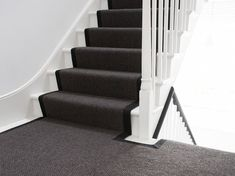 Sisal - antraciet grijze trapbekleding Entryway, Stairs, Home Decor, Entrance, Stairway, Decoration Home, Room Decor, Door Entry, Mudroom