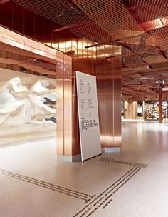 Gallery of paleet shopping center / jva - 11 wayfinding торг Shopping Mall Interior, Retail Interior, Interior Exterior, Interior Architecture, Interior Shop, Interior Paint, Shopping Malls, Interior Design, Design Design