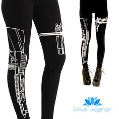 GUNS OUT LEGGINGS  Check out our amazing collection of plus size leggings at http://wholesaleplussize.clothing/
