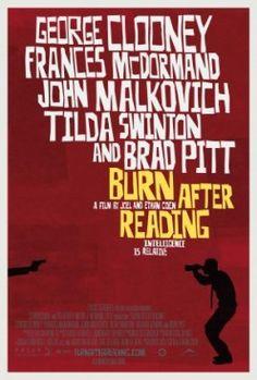 Burn After Reading poster.