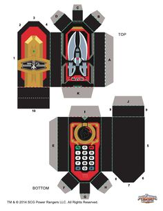 Super Megaforce Morpher - Power Rangers - The Official Power Rangers Website