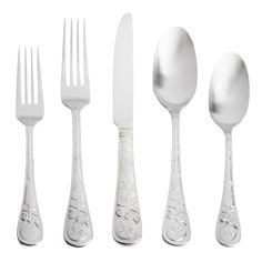 Cambridge® Seaside Satin Flatware Set, - Christmas Tree Shops and That! - Home Decor, Furniture & Gifts Store
