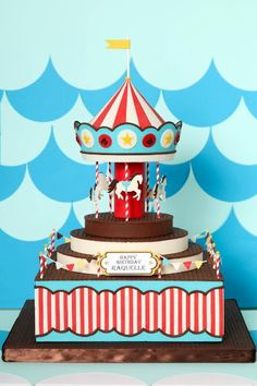Carousel Cake by Jessica Harris