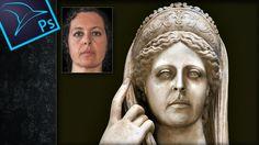 Cómo convertir a una persona en estatua con Photoshop by @Tripiyon