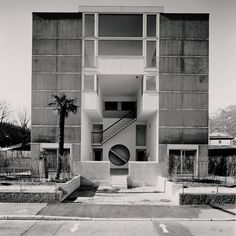 Architect's personal home by Aurelio Galfetti Built in 1986 and still inhabited by the architect.