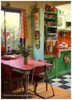cozinha vintage - Pesquisa Google